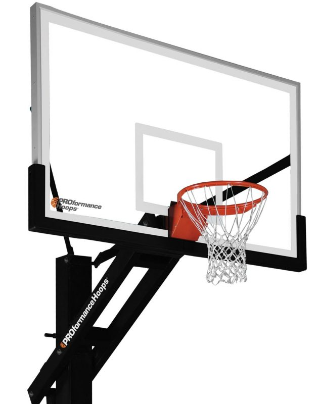 Proforce® 672 In Ground Basketball Hoop With 72 Inch Backboard